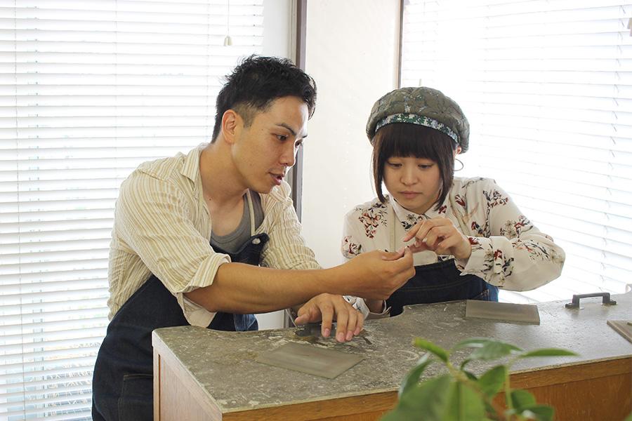 結婚指輪手作りI様6