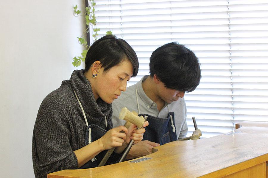手作り結婚指輪M&M様10