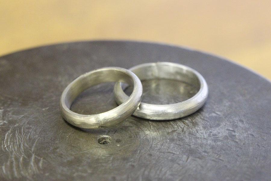 手作り結婚指輪M&M様11