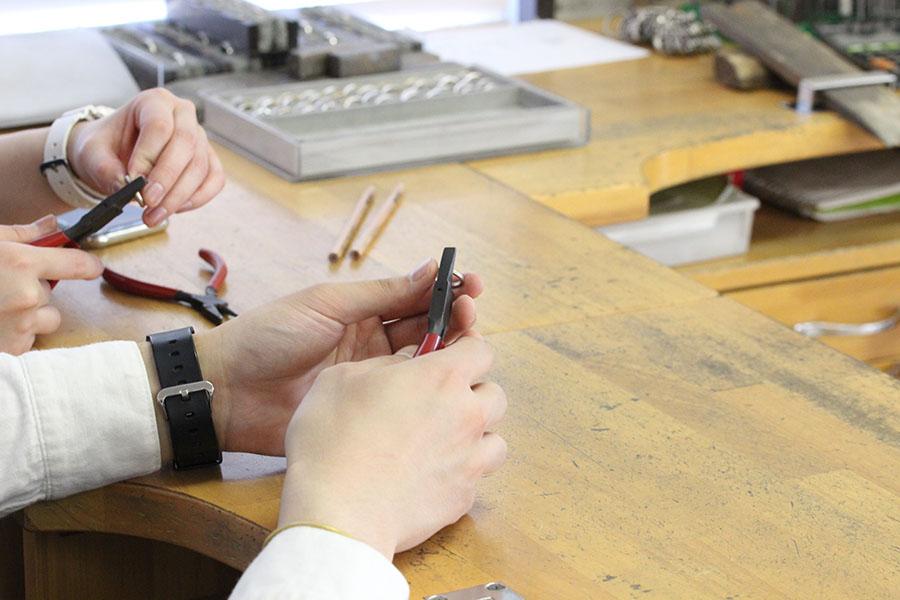 手作り結婚指輪K様2
