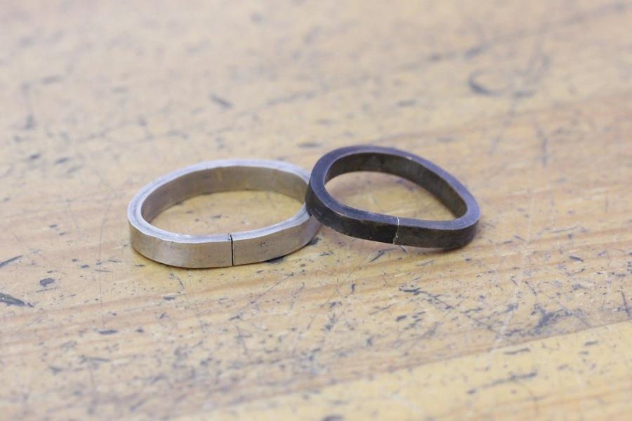 手作り結婚指輪W&N様6