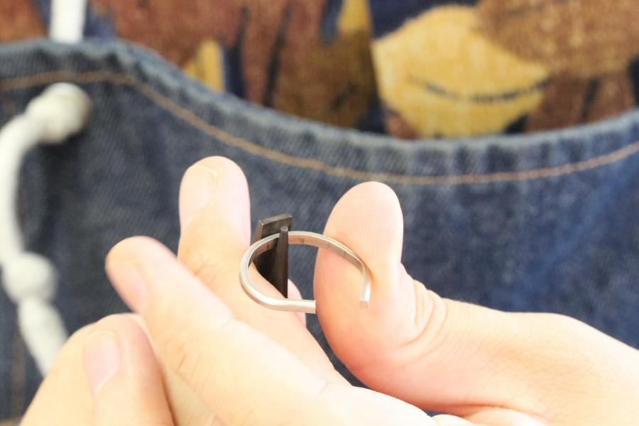 手作り結婚指輪K&N様7