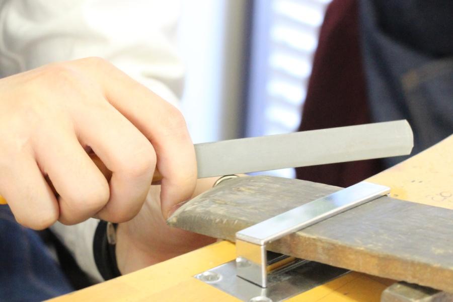 手作り結婚指輪K様25