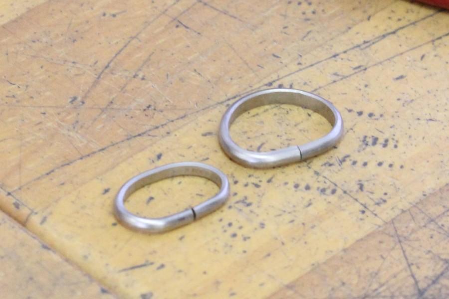 手作り結婚指輪K様27