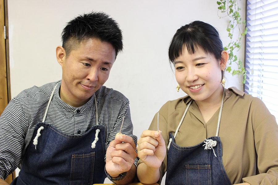 手作り結婚指輪K&K様1