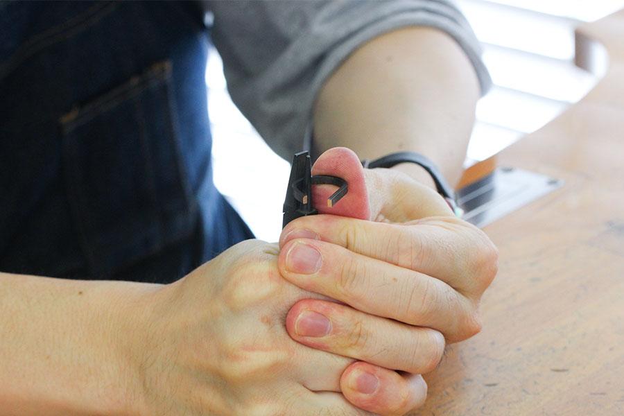 手作り結婚指輪M&K様6