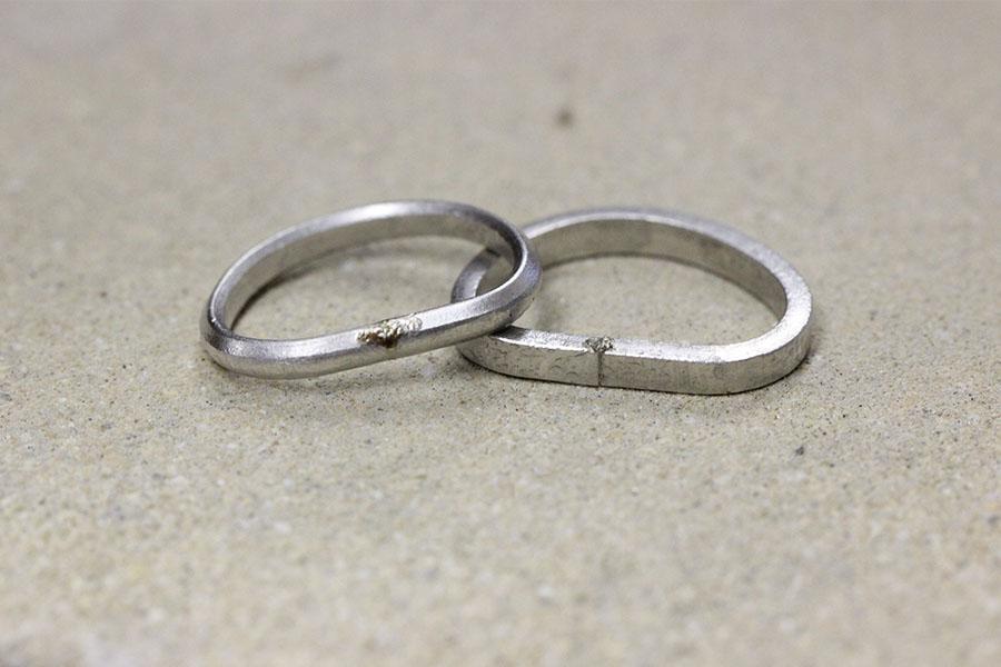手作り結婚指輪K&K様7