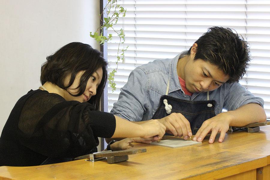 手作り結婚指輪A様15