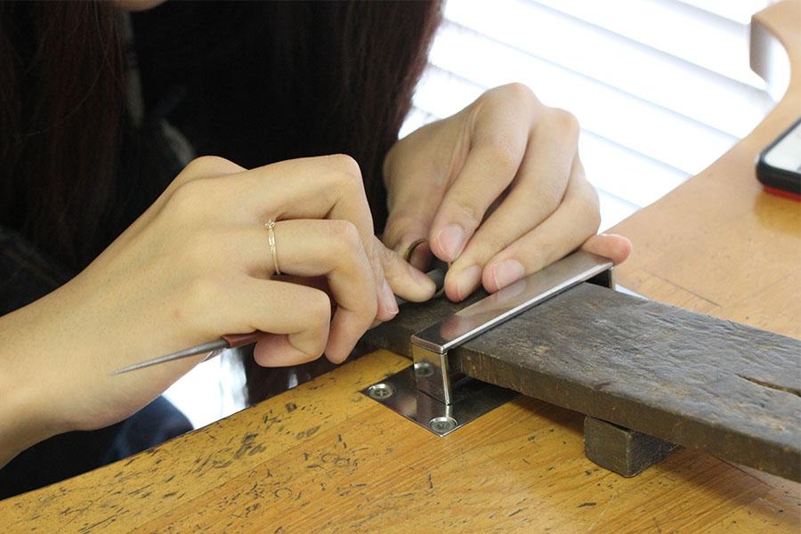 手作り結婚指輪K&M様17