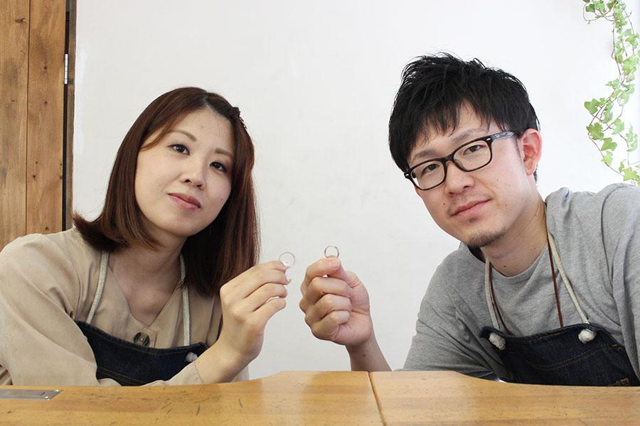 手作り結婚指輪M&K様19