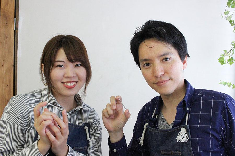 手作り結婚指輪M&H様2