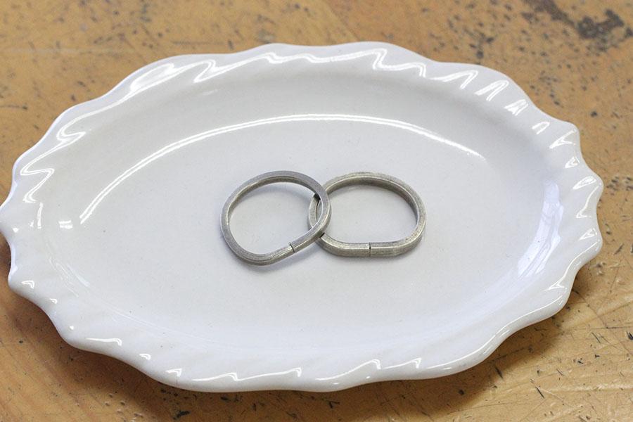 手作り結婚指輪K&M様7