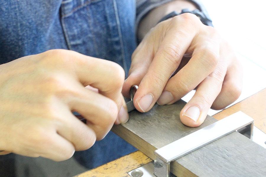 手作り結婚指輪K&M様14