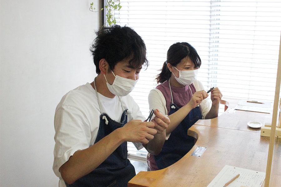 手作り結婚指輪M様5