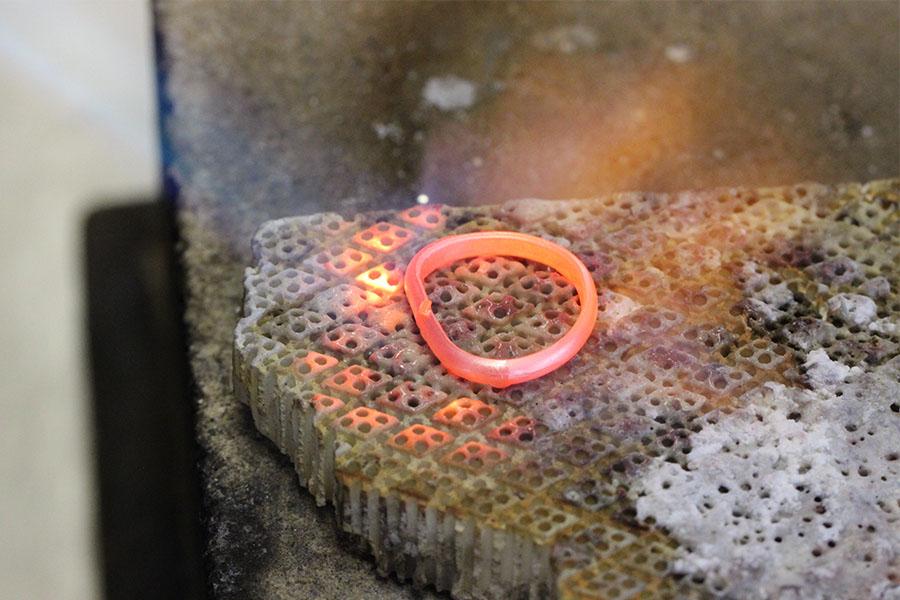 手作り結婚指輪M様6