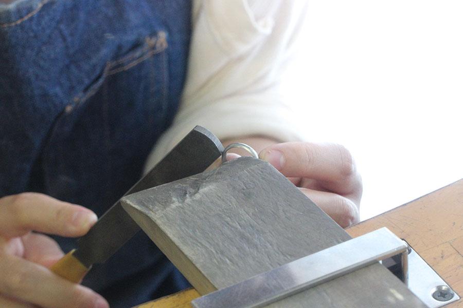 手作り結婚指輪M様11