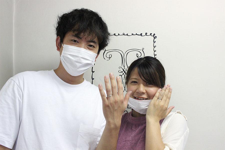 手作り結婚指輪M様15