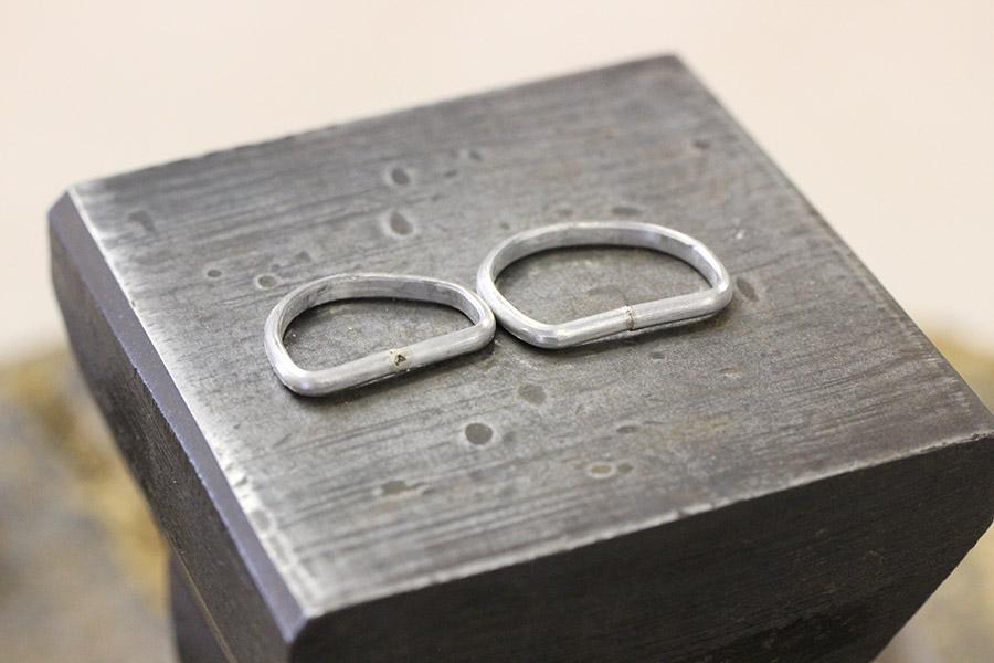 手作り結婚指輪A&M様11