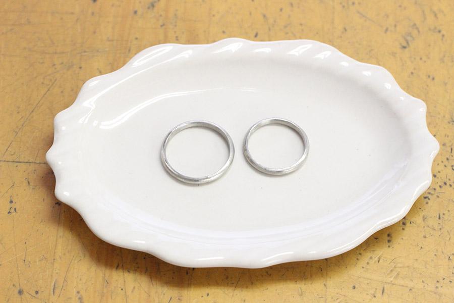 手作り結婚指輪A&M様13