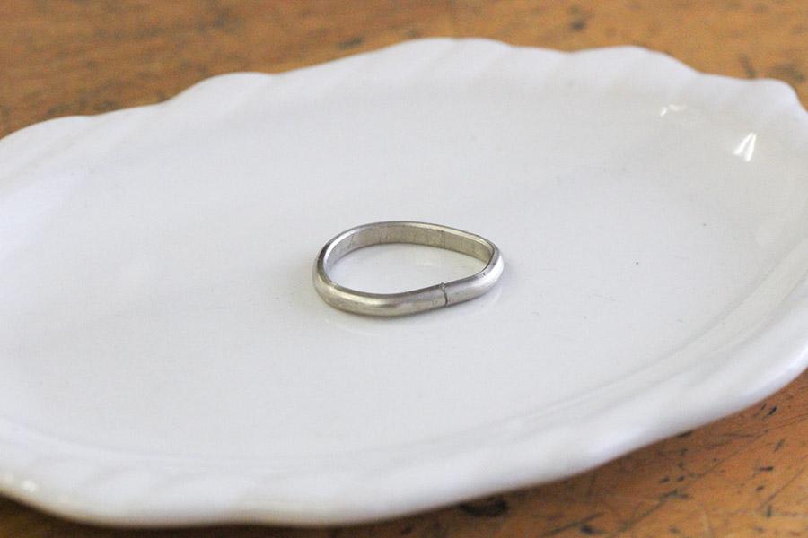 手作り婚約指輪S様6