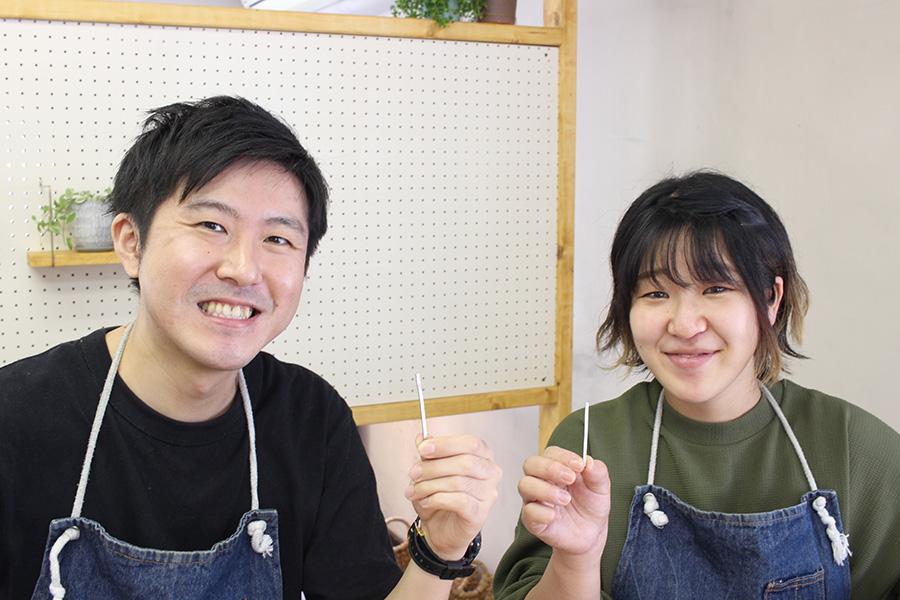 手作り結婚指輪K&S様1