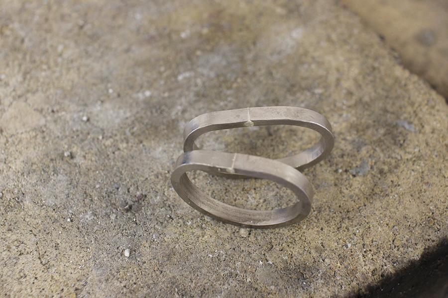 手作り結婚指輪K&S様9
