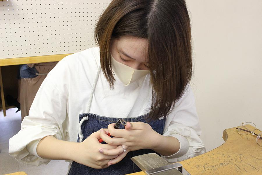 手作り結婚指輪T&W様6