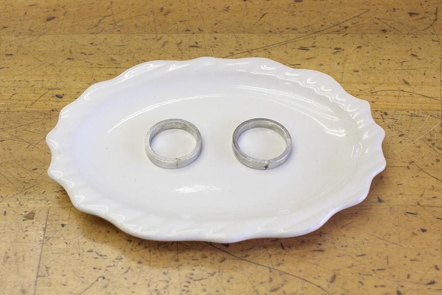 手作り結婚指輪Z様9