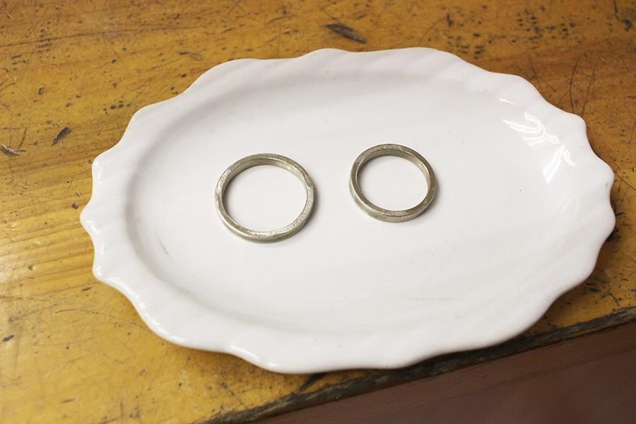 手作り結婚指輪T&W様17