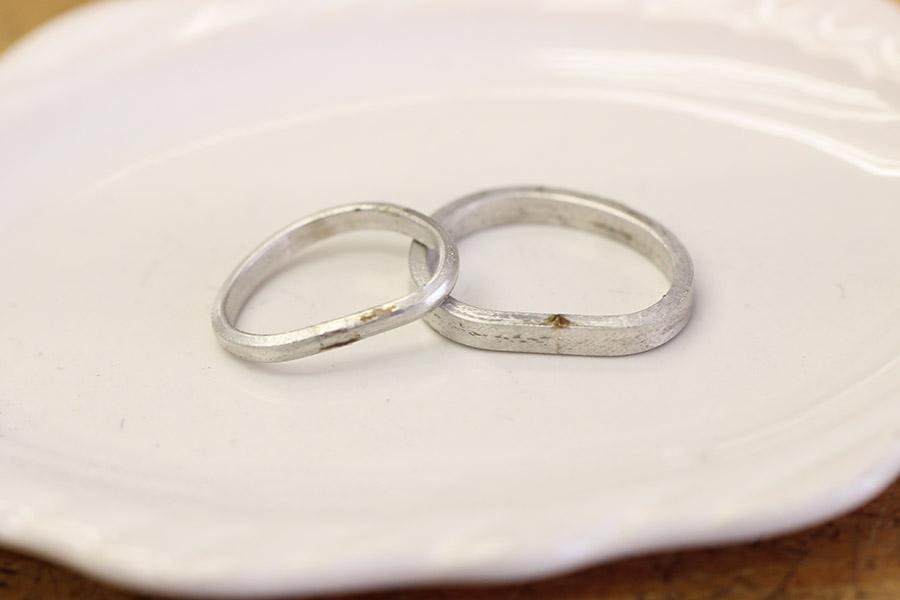 手作り結婚指輪S様H様8