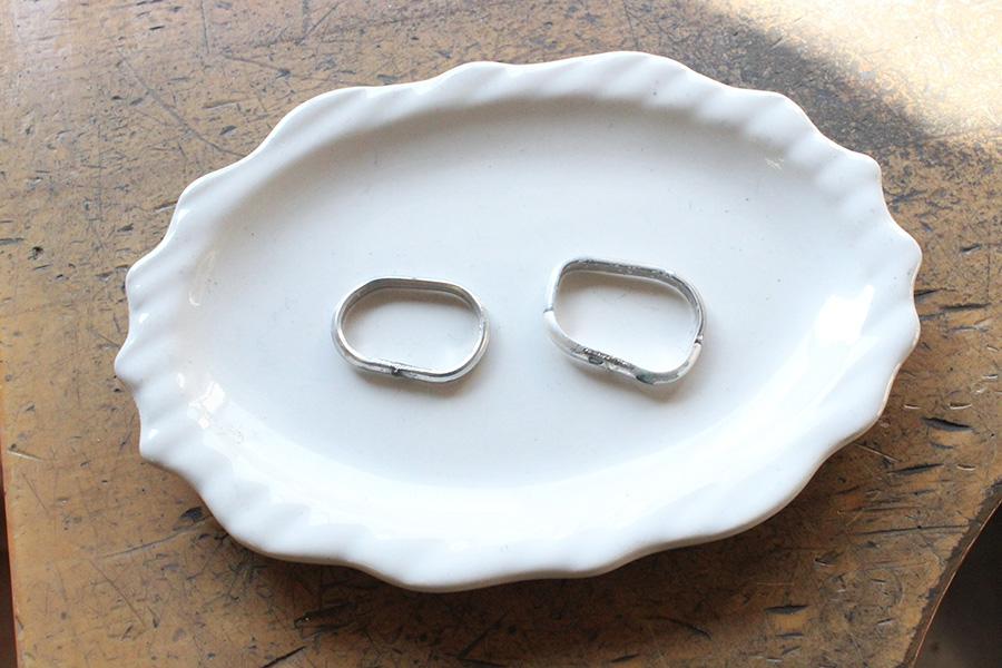 手作り結婚指輪S様8