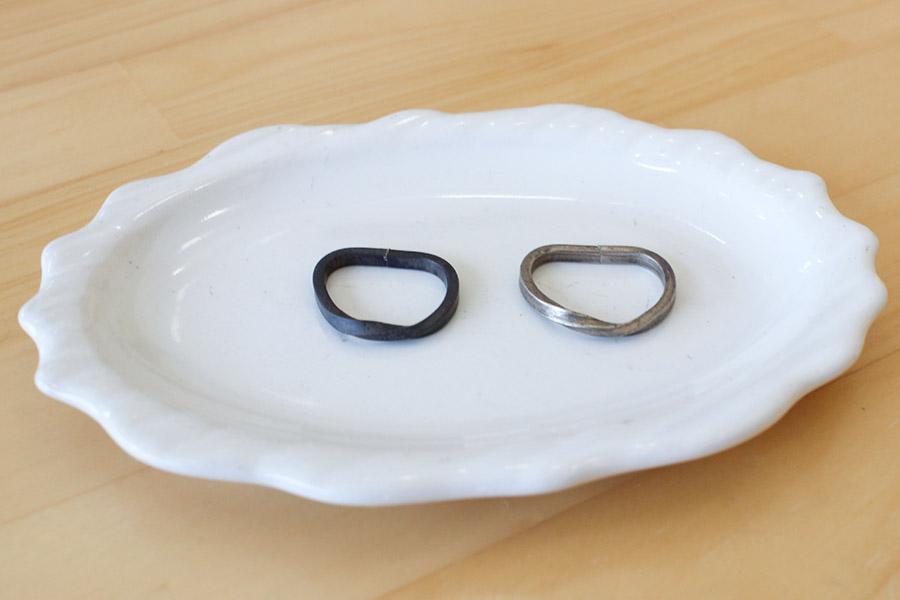 手作り結婚指輪O&O様9