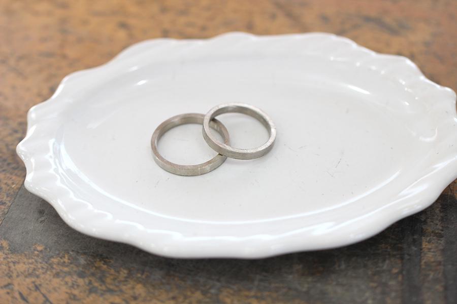 手作り結婚指輪S様10